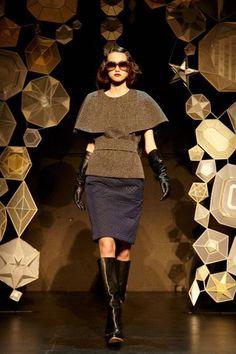 Tia Cibani, NY Fashion Week, Fall 2013