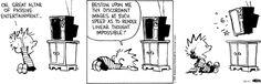 Calvin and Hobbes Comic Strip, October 11, 2014 on GoComics.com