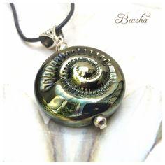 Ein persönlicher Favorit aus meinem Etsy-Shop https://www.etsy.com/de/listing/263243454/golden-ammonite-necklace-handmade