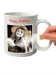 Foto-Tasse ganz einfach selbst machen! Set mit Tasse, Transfer-Folie und Stift zum Beschreiben. #Ostern #Geschenk #Tasse #Foto