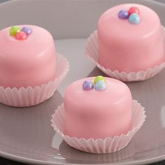 Try this Fondant Glazed Petits Fours recipe by Chef Anna Olson. This recipe is from the show Bake With Anna.