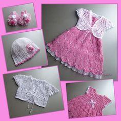 Las flores se abren: el vestido de ganchillo rosa ááČäćĘÇĘ