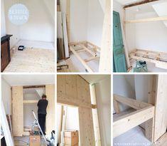 Bedstee bouwen kinderkamer Stap voor stap foto's | Kinderkamerstylist.nl