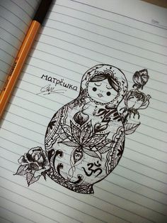 Matryoshka by CAPTAIN #Matryoshka #CAPTAIN