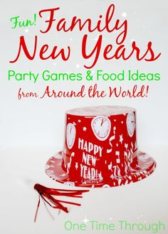 Find awesome games for your FAMILY NEWS YEARS PARTY this year - including Lucky Coconut Bowling, Melting Chocolate Fortunes, the Sorcova Wishing Stick game and more! {One Time Through} New Years Eve Games, New Years Eve Day, New Years Party, Happy New Year Quotes, Quotes About New Year, Christmas Fun, Holiday Fun, Holiday Games, Family Holiday