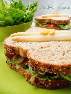 Sándwich vegetal (o vegano)