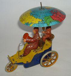 """1920 Lehmann """"Am Pol"""" tin toy"""