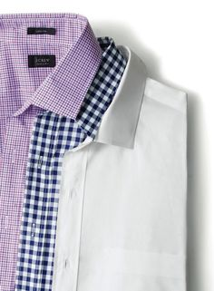 Ludlow Shirts from JCrew finally here. White spread collar please.