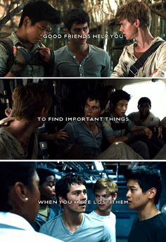 the maze runner, the scorch trials part 1 gif - quote by Doe Zantamata