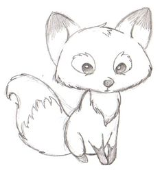 Image of: Kids Le Cute Fox Fun Easy Drawingsfox Pinterest 53 Best Simple Animal Drawings Images Drawings Learn To Draw