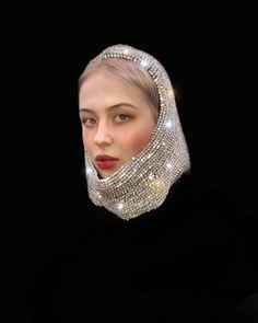 Face Jewellery, Eye Jewelry, Bold Fashion, Womens Fashion, Fashion Design, Female Heroines, Gothic Lolita Fashion, Russian Folk, Meet The Artist