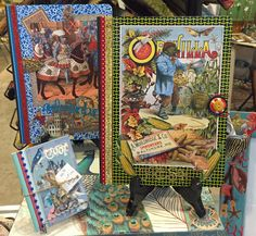 Truly unique decoupage journals created by Terri Yellalonis and exclusive at MTFF. All SOLD!