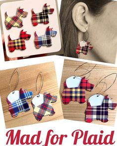 Feelin Mad for Plaid- this sweet tin featuring plaid Scottie pups makes for some charming ear decor! Only 2 pair available. DM to purchase $28 s/h #ttedesigns #ttedesigns #madforplaid #scot #scottie #scottiedog #vintagetin #scottiesofinstagram #reuse #zerowaste #plaid #tartan # #tartanplaid #mismatchstyle #nontraditionalmaterials #reducereuserecycle #georgiaartist Reduce Reuse Recycle, Tin Containers, Scottie Dog, Tartan Plaid, Artisan Jewelry, Pup, My Etsy Shop, Jewellery, Friends