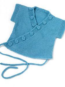 knit kimono top