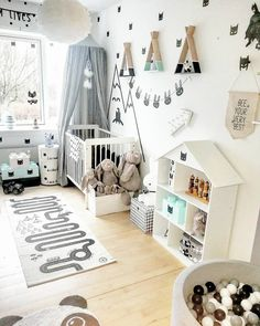 Children Room Organization Girls Ideas For 2019 Baby Bedroom, Baby Boy Rooms, Baby Room Decor, Nursery Room, Girls Bedroom, Girl Room, Ideas Habitaciones, Kids Room Organization, Baby Room Design