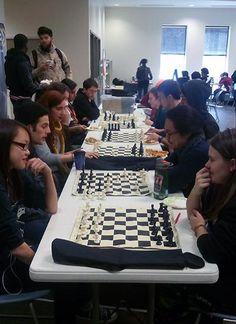 The Dunwoody Campus Chess Club meets every Wednesday from 11 a.m. to 1 p.m. in the Student Center and welcomes new members.