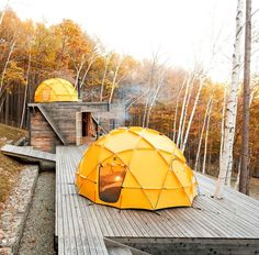 18 of the most modern and unusual summer camping tents
