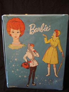 My granny had this barbie case at her house in the early 1970s, I can remember playing with the dolls in it!