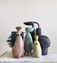 LA based ceramicist Maryam Riazi creates distinctive sculptural feminine forms are uniquely beautiful and sought after. Interview and studio visit.