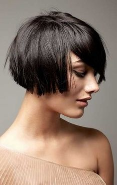 The French bob is as fabulous as a brunette as it is as a blonde. It's what you make of it that will make it unique. For summer it's just the right way to take a few inches off and rock a new look.