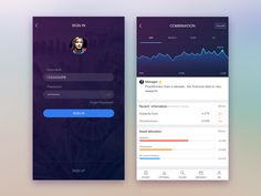 A financial software APP for IOS