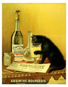 Food & drink retro advert