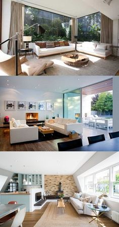 Living Room Space – Thrilling Open-Plan Areas Living Room Ideas 2018, Living Room Decor, Large Homes, Best Interior Design, Open Plan, Creative Design, Decorations, How To Plan, Space