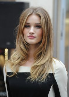 Hairstyles Long Layers Middle Part | Long Hair Styles
