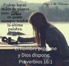 Que tus planes estén enfocados en hacer la voluntad de Dios.