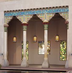 Loggia from Laurelton Hall, Oyster Bay, New York, ca. 1905 Louis Comfort Tiffany…