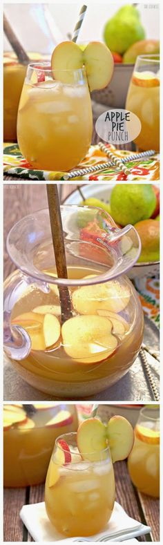 APPLE PIE PUNCH, Easily make it a cocktail or not