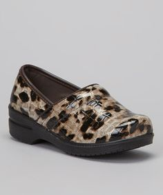 Take a look at this Brown Leopard Clog by COCO Jumbo on #zulily today! $17 !!