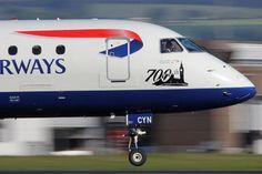 G-LCYN - British Airways - City Flyer Embraer ERJ-190 (190-100) photo (730 views)