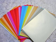 24 Colored Envelope Assortment for Cards Journals Invitations Scrapbooking Announcements Weddings Photo Shower Craft Envelopes DESTASH by on Etsy Wedding Envelopes, Invitation Envelopes, Invitations, Prayers To Mary, Christian Pictures, Card Making Supplies, Scrapbook Paper, Scrapbooking, Prayer Cards