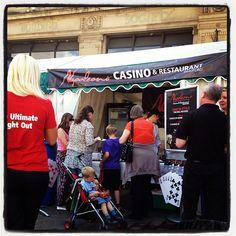 #napoleons #casino & #restaurant #bradford's stand at #huddersfield food & drink festival