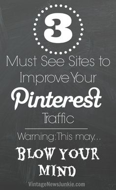 3 tools you should be using with Pinterest #blogging