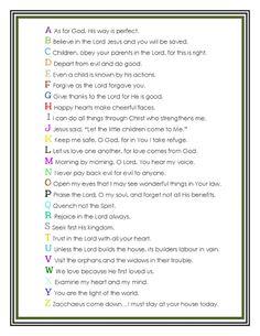 FREE Bible memory verses {by Anita Bremer}
