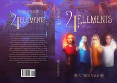 Young adult urban fantasy premade book cover with 4 modern witch and their own special powers. Premade is no longer available for sale.