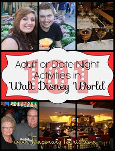 101 Walt Disney World Date Night Activites ( or things to do without Children)