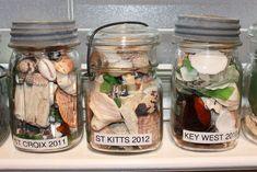 Seaside Memory Jars