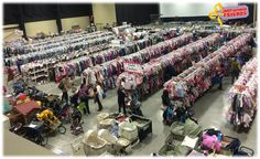 The Just Between Friends Kid's Consignment Sales Event is Thursday, March  19th through Saturday, March 21st, at Gold Creek Church in Mill Creek.