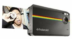 New Digital Polaroid! Print instantly, and also have the digital file to save.
