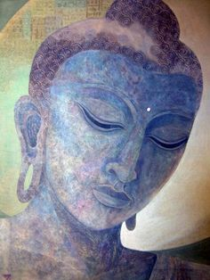 """If you know the psychological nature of your own mind, depression is spontaneously dispelled; instead of being enemies and strangers, all living beings become your friends. The narrow mind rejects; wisdom accepts. Check your own mind to see whether or not this is true."" ~Lama Zopa Rinpoche (Artist: Jennifer Baird, ""Buddha Alive in Stone"") ..*"