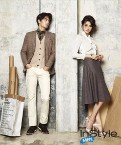 More Of Lee Jin Wook & Yoo In Young For InStyle Korea's September 2014 Issue | Couch Kimchi