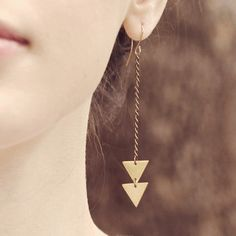 Geometric Jewellery: It's Hip To Wear A Square