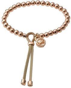 ShopStyle: Michael Kors Beaded Stretch Bracelet