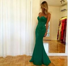 Prom Dress,Mermaid Prom Dress,Long