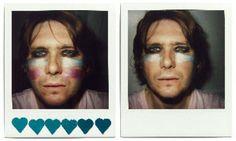 Nicky Wire Polaroids