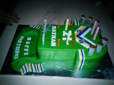 Another great Canberra Raiders birthday cakes! From one of The GH's Facebook followers Nathan.