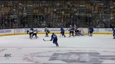 Morgan Rielly with an amazing jump to keep the puck in the zone Morgan Rielly, Anaheim Ducks, Camping Gifts, Toronto Maple Leafs, Pittsburgh Penguins, Chicago Blackhawks, Hockey Players, Ice Hockey, Nhl